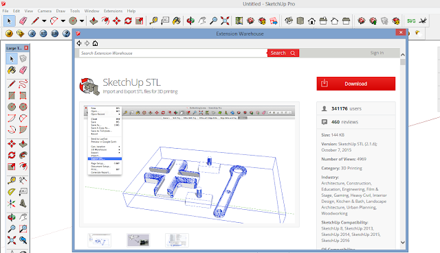 Progressth how to sketchup 3d printing for Stl file sketchup