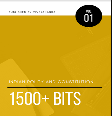 Indian Polity One Liner 1500+ Q&A PDF For UPSC
