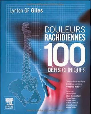 Télécharger Livre Gratuit Douleurs rachidiennes - 100 défis cliniques pdf