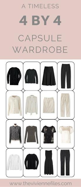 A Timeless 4 by 4 Wardrobe