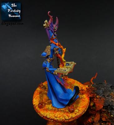 Gaunt Summoner of Tzeentch. Warhammer Quest Silver Tower WiP3