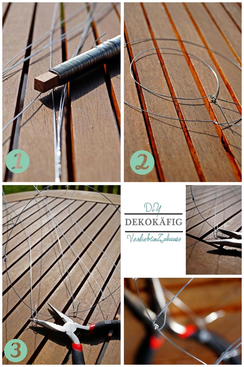 birdcage tutorial Step 1 to 3