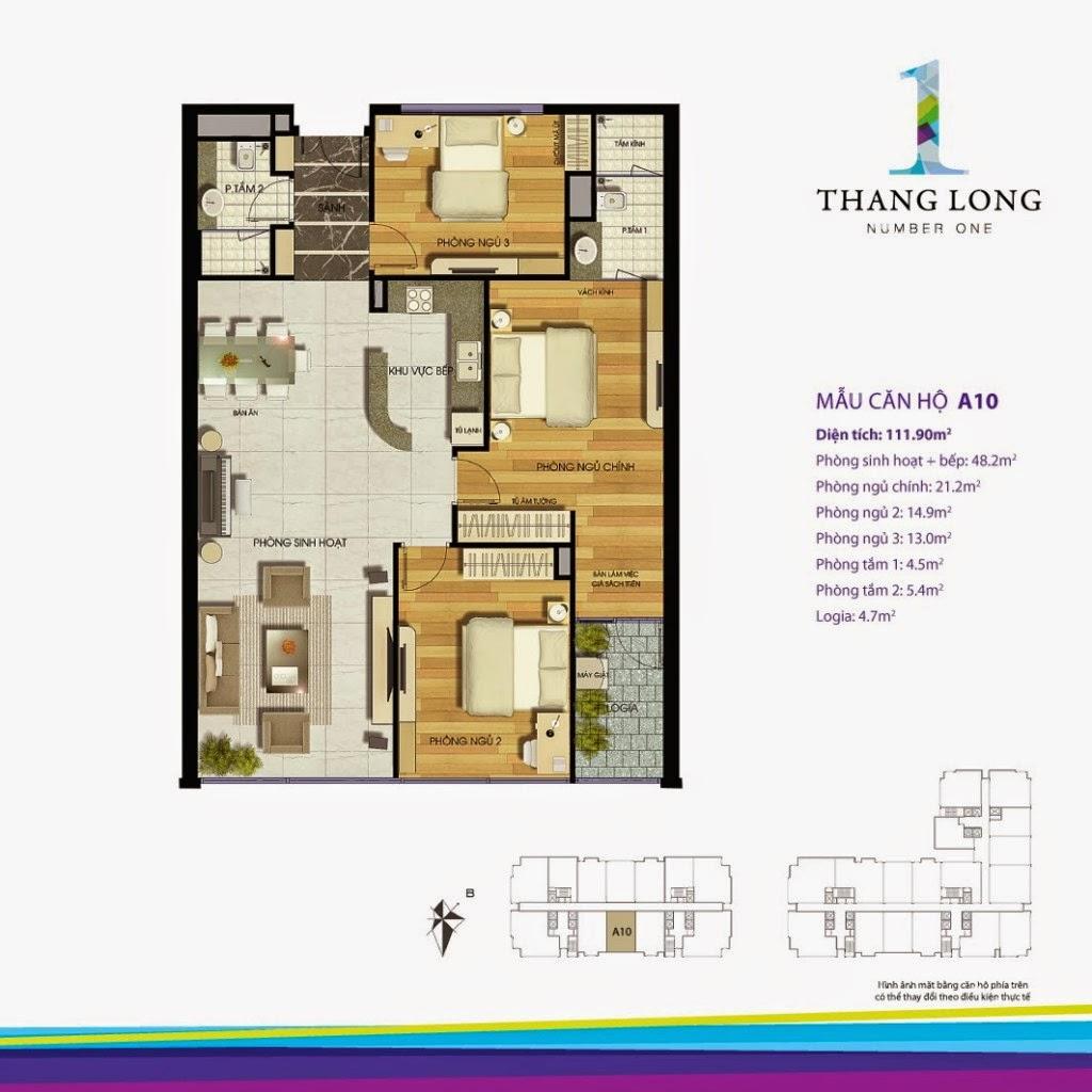 Căn A10- 111,90 m2