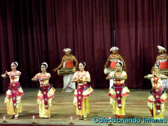 Show Cultural en Kandy