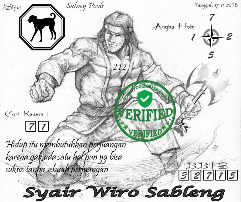 angkah-1 Syair Sidney