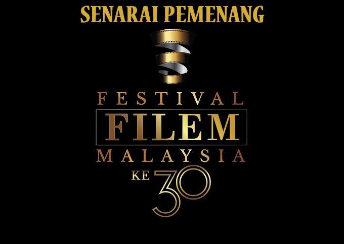 Senarai Pemenang Anugerah Festival Filem Malaysia Ke 30