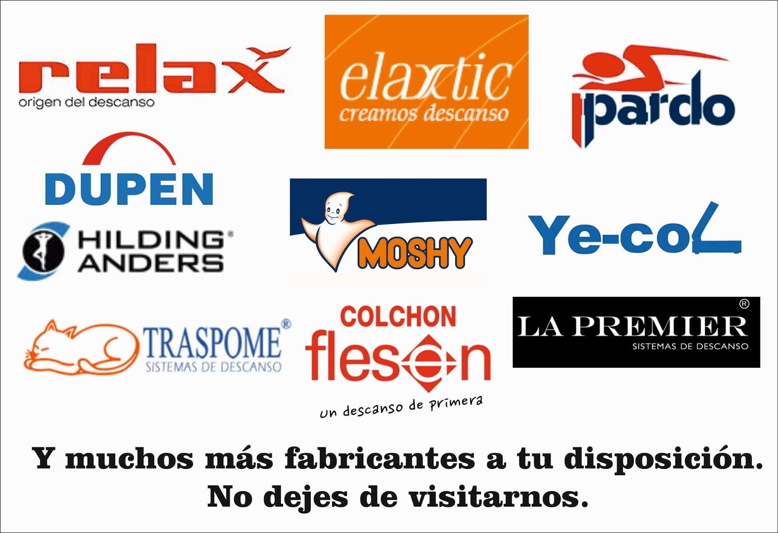 Colchon Plus: Logotipos de marcas de colchones y complementos