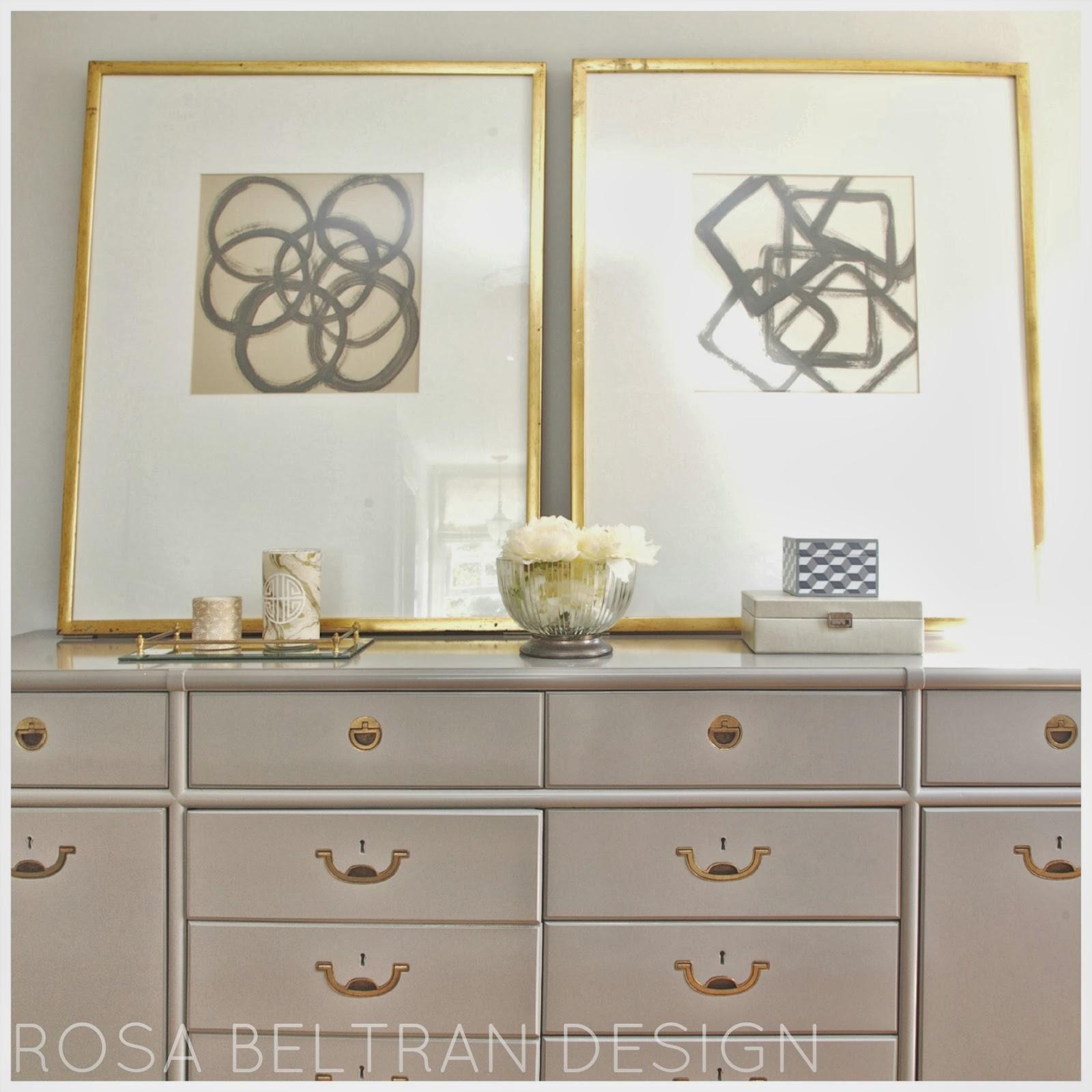 Rosa Beltran Design: DIY WALL ART SERIES: MODERN ABSTRACTS