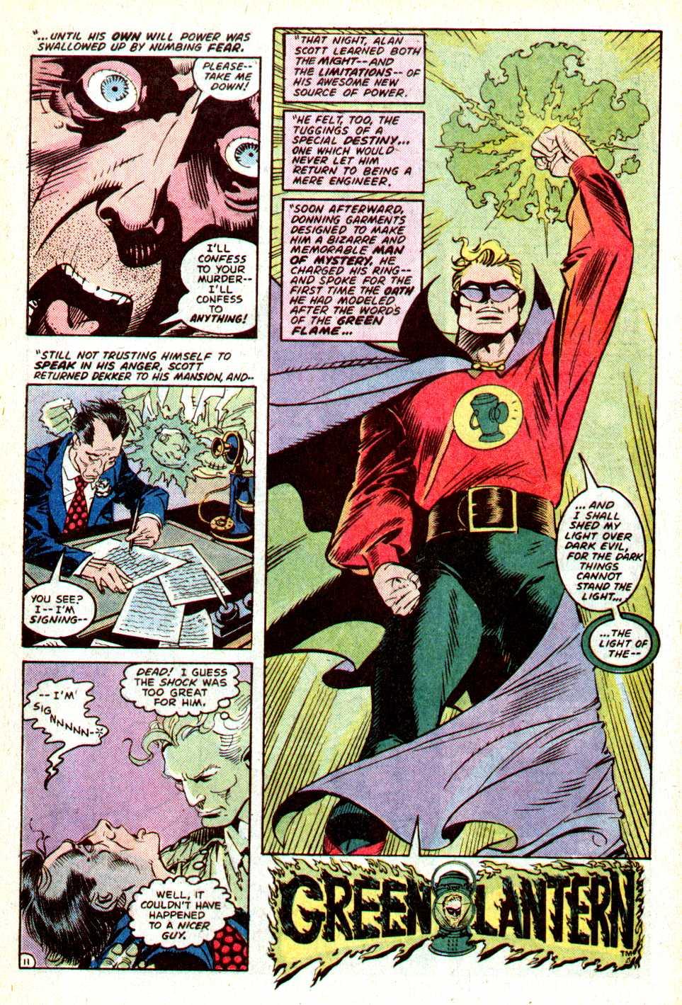 Read online Secret Origins (1986) comic -  Issue #18 - 28