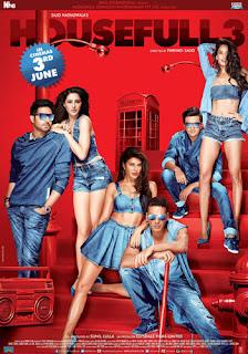 Housefull 3 (2016) Hindi Full Movie Download HDrip