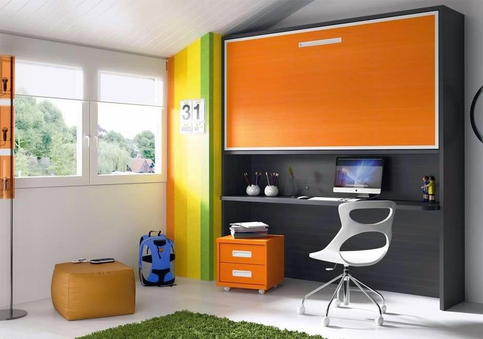 Decorar habitaciones juveniles peque as decoracion de - Muebles habitacion pequena ...
