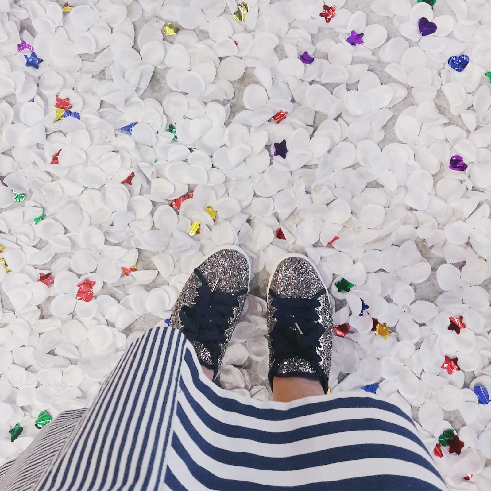 glittery sneakers | www.bigdreamerblog.com