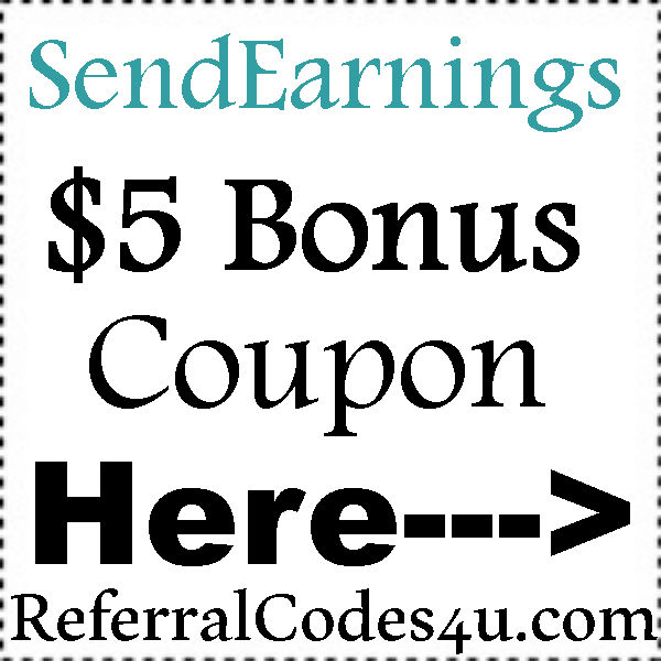 SendEarnings Referral Codes, SendEarnings App Mobile Download Android and Iphone