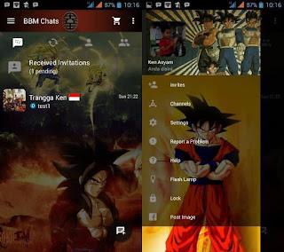 BBM Mod Tema Dragon Ball Ver 3.3.6.51 .APK