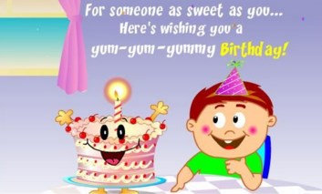 Happy Messages Kids Birthday Quotes For