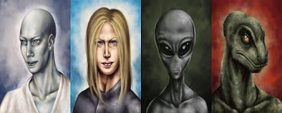 4 species of Aliens that want to harm us humans.