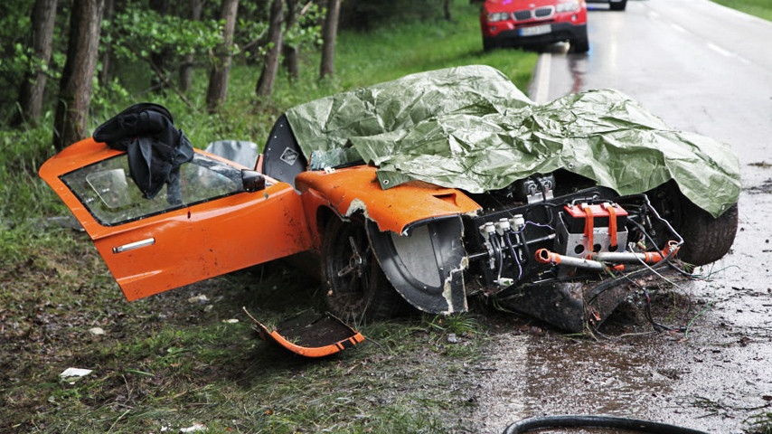 Fatal Ford GT40 Accident in Germany