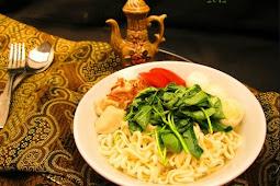 Resep Masakan Mie Kangkung Ikan Air Garam