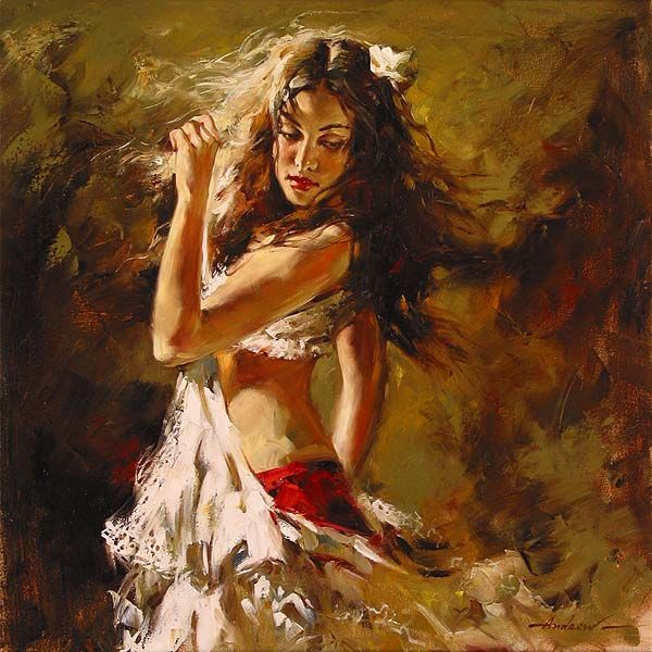 Stunning Female Paintings By Andrew Atroshenko