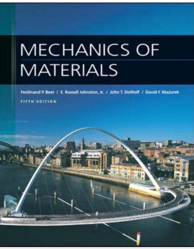 Free E Books Mechanics Of Materials 5th Editions border=