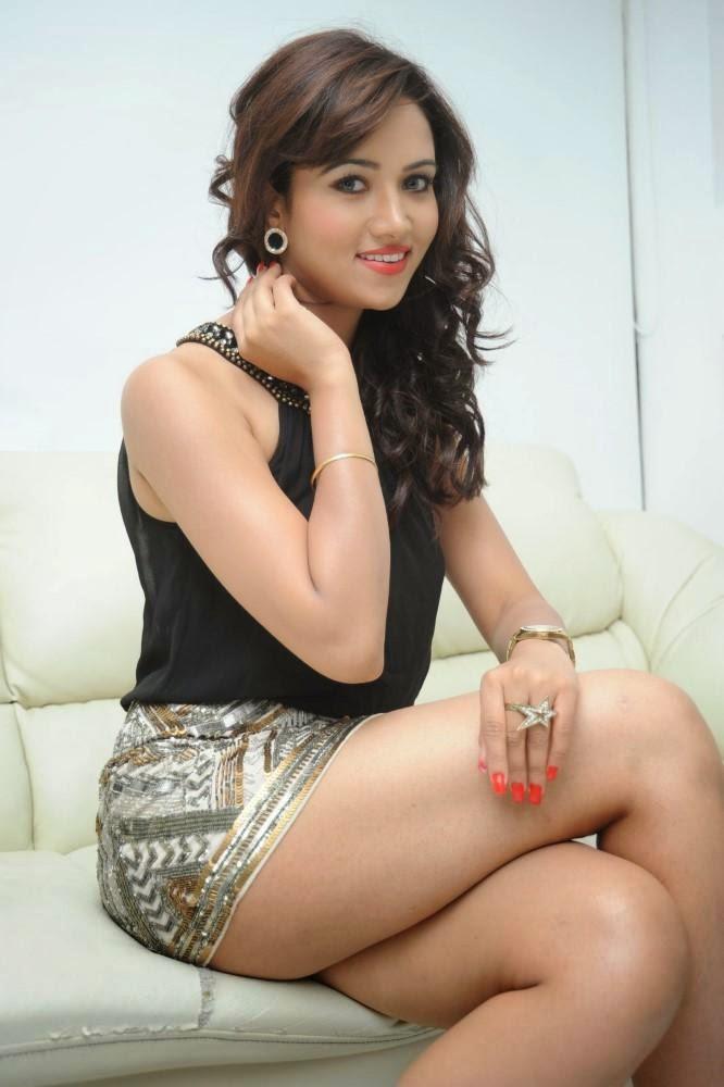 Preeti Rana during the photo shoot in Mumbai