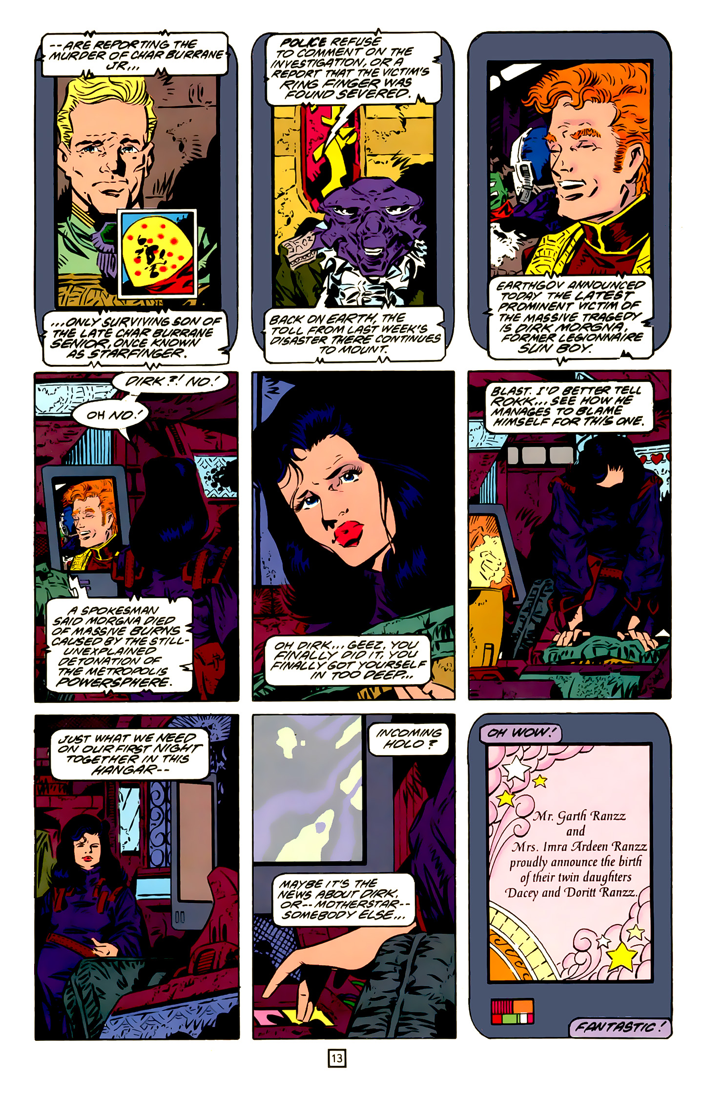 Legion of Super-Heroes (1989) 20 Page 13
