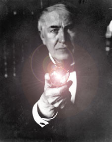 Thomas Edison Lightbulb