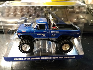 Hobby Exclusive GreenLight Bigfoot #1 The Original Monster Truck 1974 Ford F-250