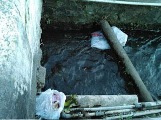 Nak, Buanglah Sampah di Sungai