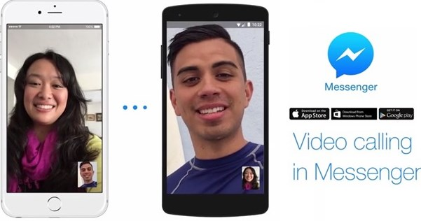 how to start a facebook messenger video call