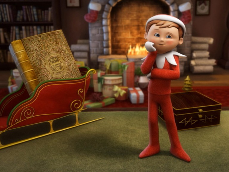 An Elfs Story: The Elf on the Shelf