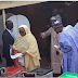 President, Mohammadu Buhari Spotted Peeping Into His Wife Ballot Papers