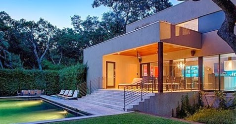 renovasi rumah modern bergaya eropa - rancangan desain