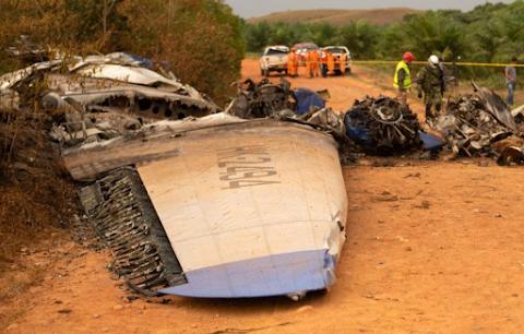 Lezuhant egy repülőgép, többen meghaltak