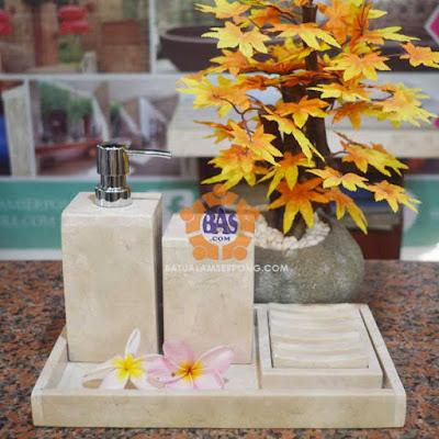 soap dispenser batu marmer jakarta
