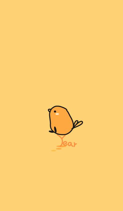 chick staring