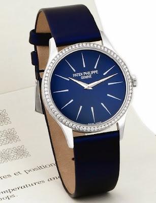 Patek Philippe - Ref.4896G, Calatrava Ultrathin Watch for Ladies (2006)