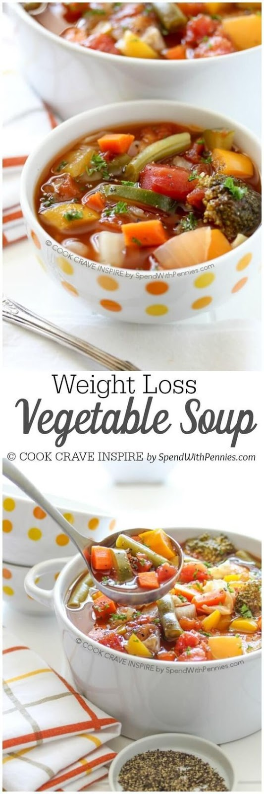 Weight Loss Vegetable Soup #SOUP #HEALTHY #MAINCOURSE #AMERICAN