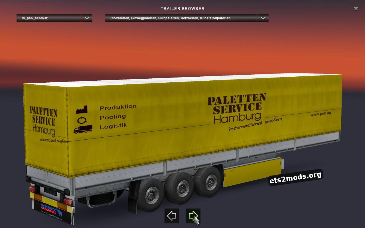 Trailer Pack Palettenservice Hamburg