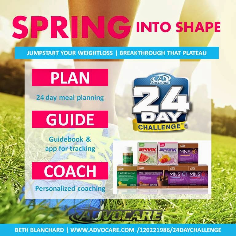 Spark The Fire - Fitness  Nutrition  Spring forward in to better - 24 day challenge guide
