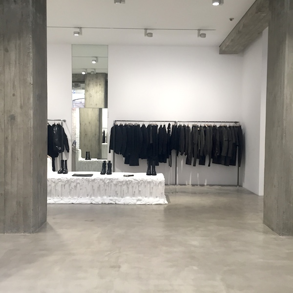 Rick owens furniture line and store visit milan design for Rick owens milan