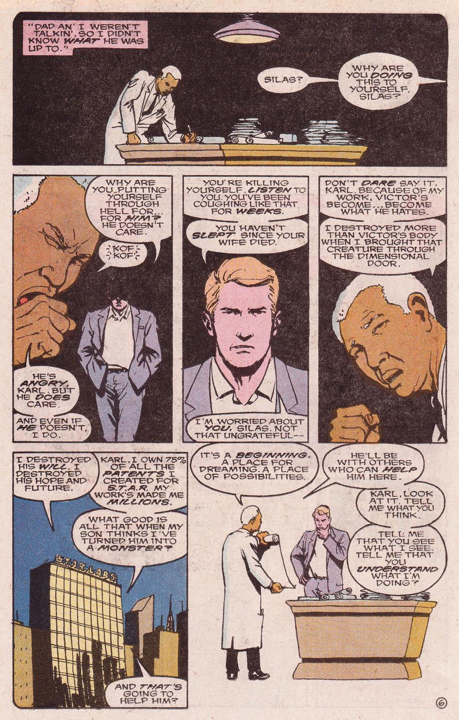 Read online Secret Origins (1986) comic -  Issue #46 - 21