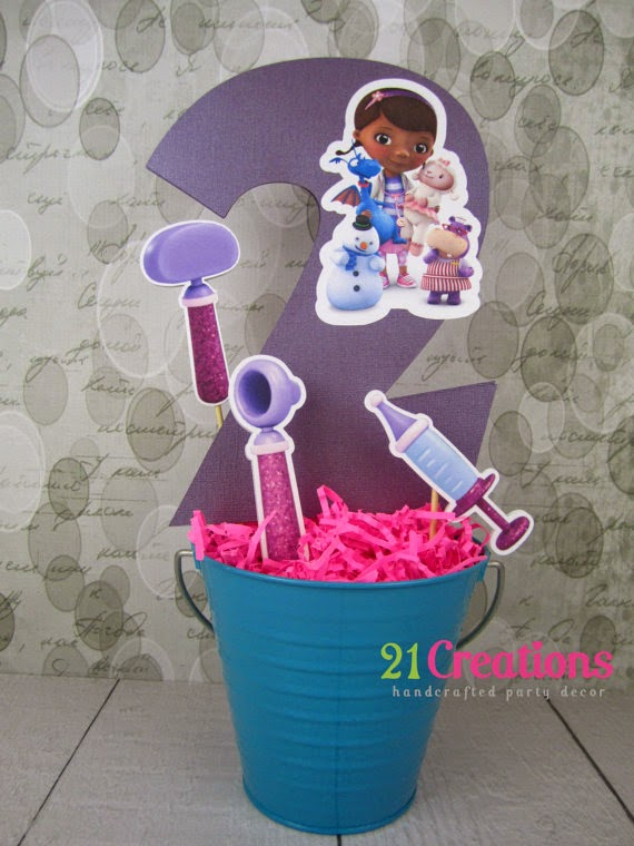Centro de Mesa Dra Brinquedos Baldinho