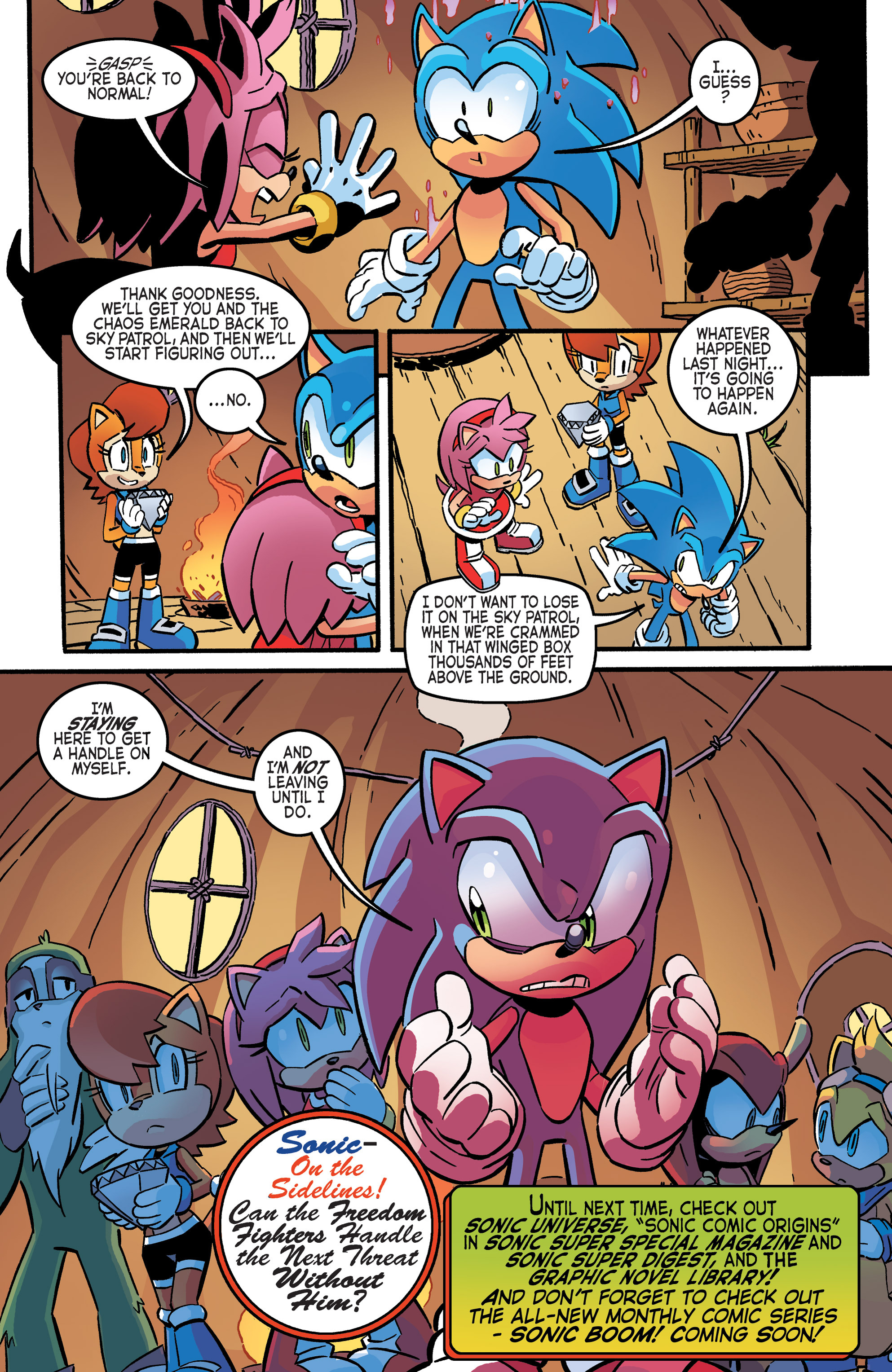 Read online Sonic The Hedgehog comic -  Issue #265 - 17