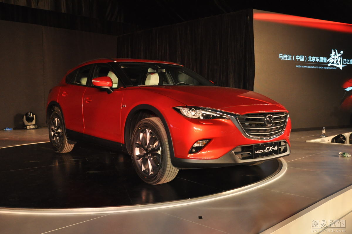 sleek mazda cx 4 suv coupe won 39 t make it to europe. Black Bedroom Furniture Sets. Home Design Ideas