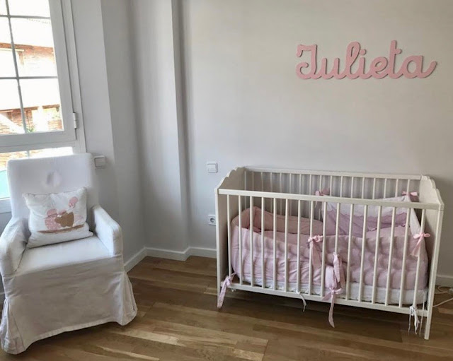 Decoración infantil personalizada habitación de niña
