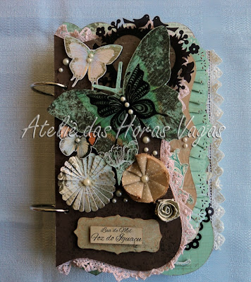 mini album chipboard lua de mel em foz do iguaçu