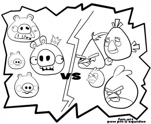 25 Desenhos Do Angry Birds Para Colorir Em Casa: Notícias Ponto Com : DESENHOS ANGRY BIRDS PARA IMPRIMIR E