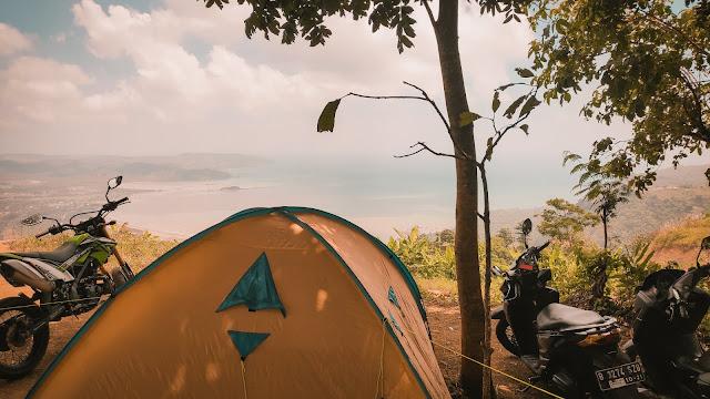 Pengalaman Touring + Camping di Geopark Ciletuh Sukabumi - JanganLupaBahagia.com