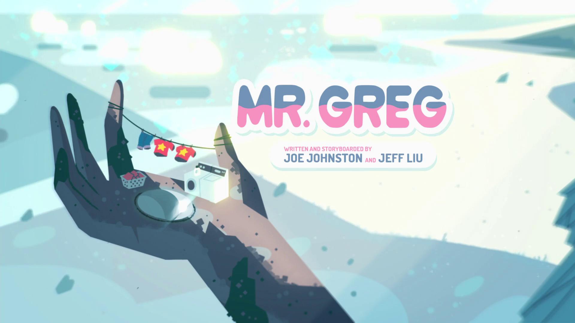 Steven Universo - Sr. Greg